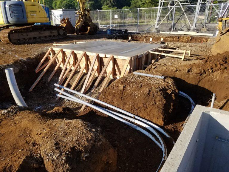 Beaver Substation Under Construction