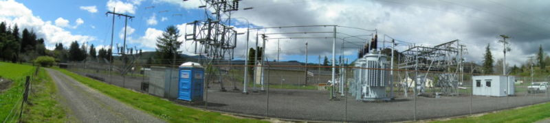 Beaver Substation Prior to Construction