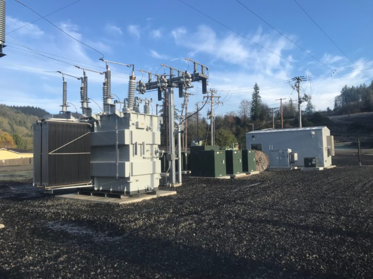 Completed Beaver Substation After Rebuilding Project